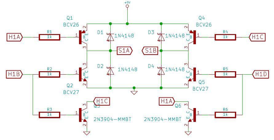H-Bridge Latching Solenoid Control Details Hackadayio