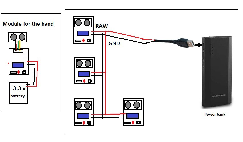 wiring a switch in the middle of a circuit