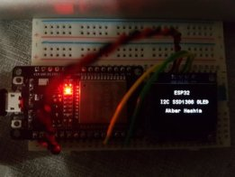 SSD1306 OLED Display Library for ESP32