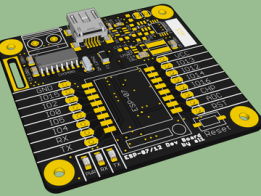 ESP-07 / ESP-12 Development Board