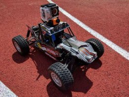 RC - based security vehicle with measuring station