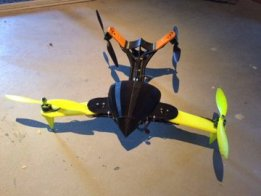 Raptor V-Tail Quadcopter Drone