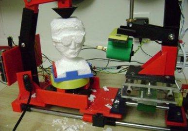 Series 1 3D printed 3D Freeform carving machine