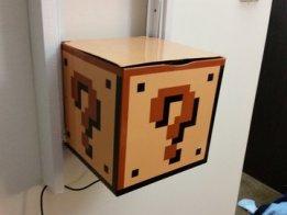 Interactive Mario Mushroom Block