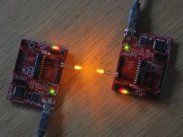 LEDs as photodiodes for 1 kB challenge