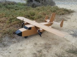 Heavy Lift RC Plane