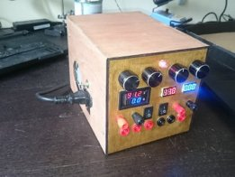 Variable bench powersupply 1-80V 0-10A