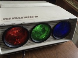 Modded XBOX w/ RGB CRT Projector Hack