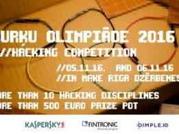 Hacker Olympics 2016 @MakeRīga hackerspace