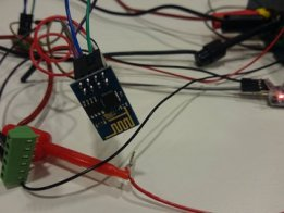 Fiddling with the esp8266