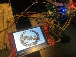 SPQR/The ides of March: DEFCON 25 Unofficial Badge