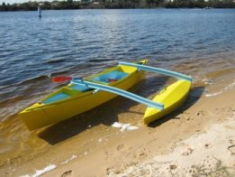A Plywood Canoe