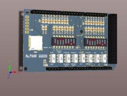 Altair 8800 front panel Ardiuno shield