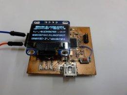 Minimum Zero compatible SAM D21G18 board