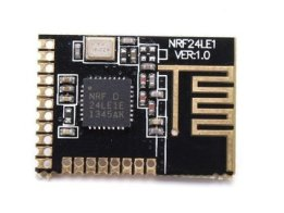 Car alarm secure remote with nRF24LE1