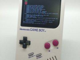 Raspberry Pi Zero/Gameboy DMG-01 Mod