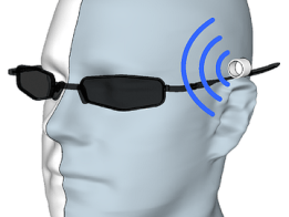 Ultrasonic range finder for the visually impaired