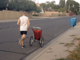 RoadRunner - Powered Running Stroller