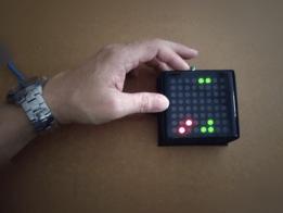 Bi-color LED Matrix Flappy Bird Game