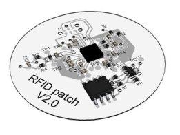 RFID air pressure sensor