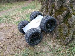 4WD all terrain robot