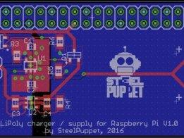 Raspberry Pi Zero LiPoly board