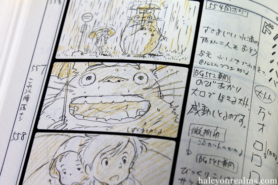 The Art of Totoro - The Storyboard Book - Halcyon Realms - Art Book - anime storyboard