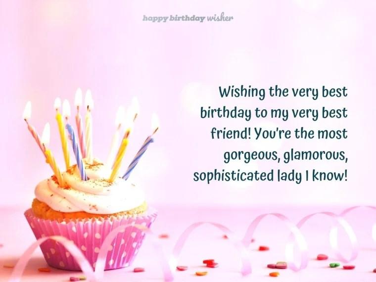 Birthday Wishes for Best Friend - Happy Birthday Wisher