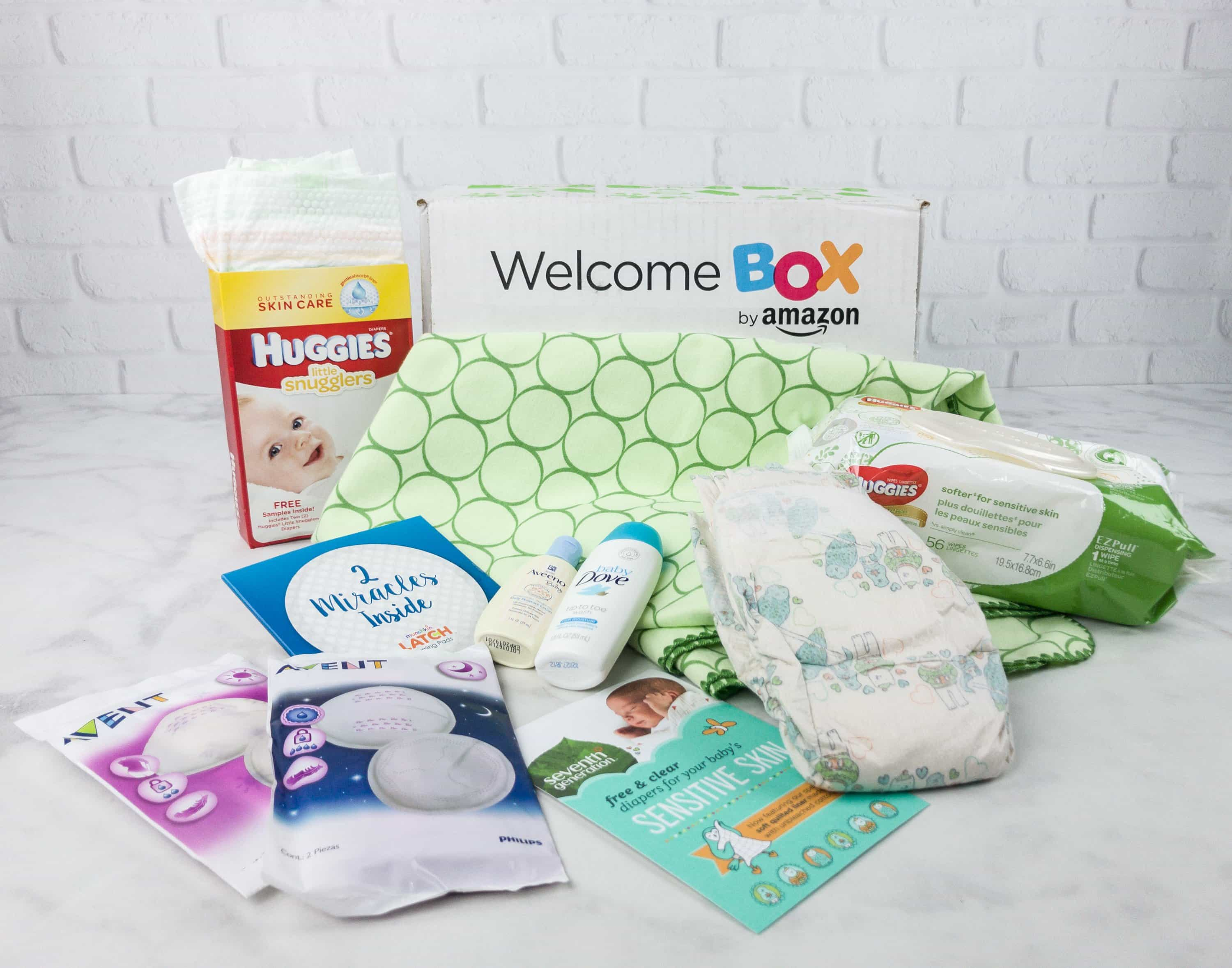 How To Get The Free Amazon Baby Welcome Box Hello