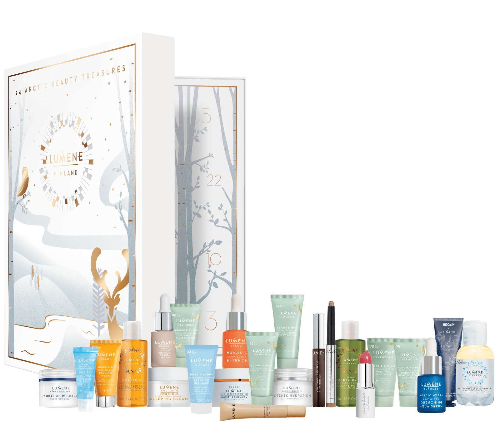 Calendrier Rituals 2018 2018 Lumene Beauty Advent Calendar Available Now Full Spoilers