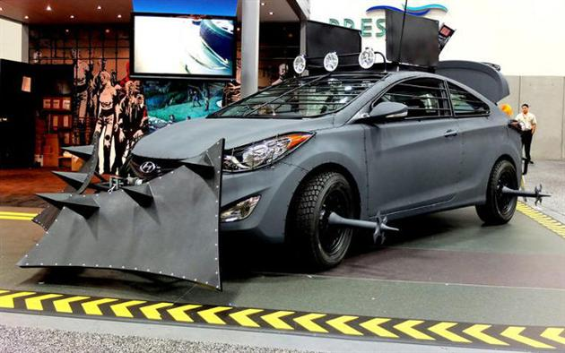 Hyundai Zombie Survival Car