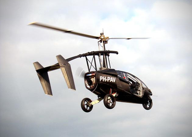 Pal V One Personal Air and Land Vehicle