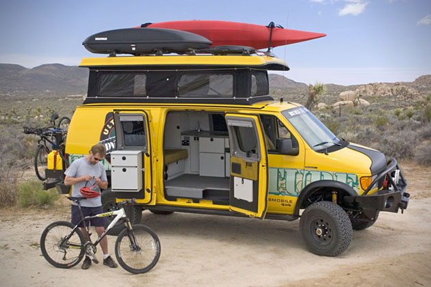 Sportsmobile Ultimate Adventure Vehicle
