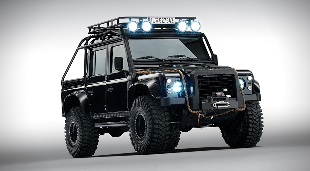 Car Chase Wallpaper Hd Land Rover Defender Spectre Hiconsumption