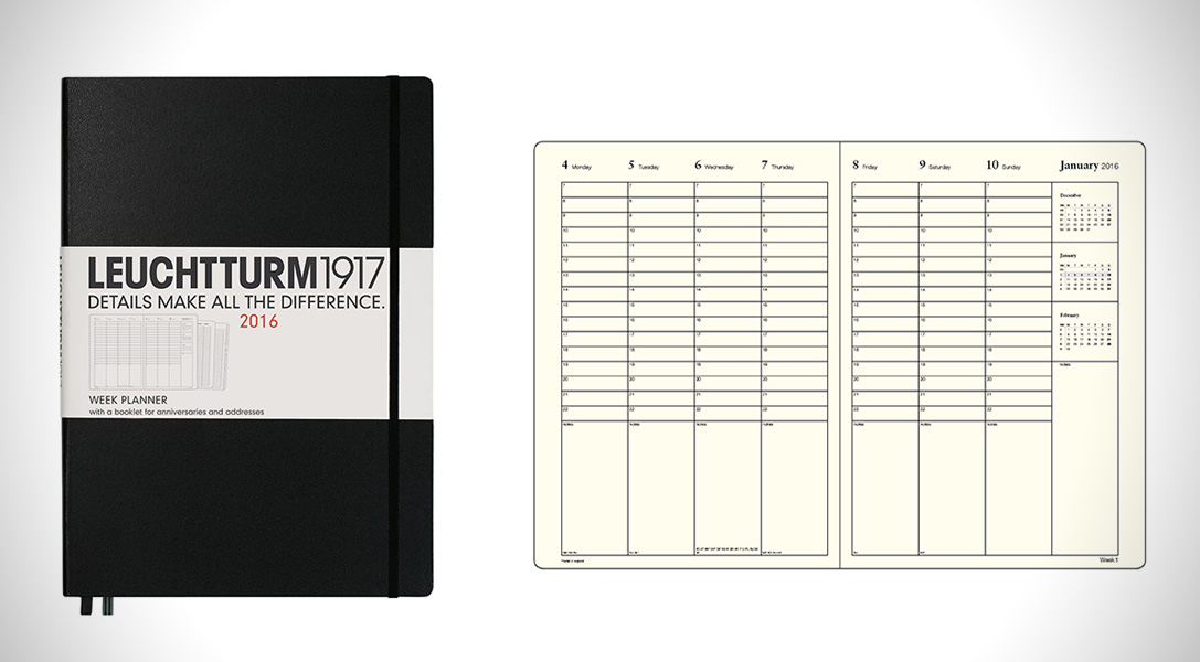 Write Now 7 Best EDC Planners for 2016 HiConsumption