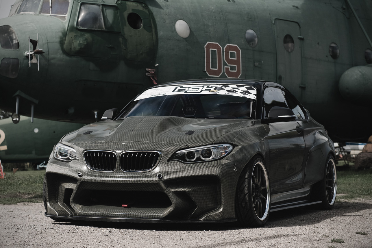 Modified Sports Car Wallpaper Bmw F22 Eurofighter By Hgk Motorsport Hiconsumption