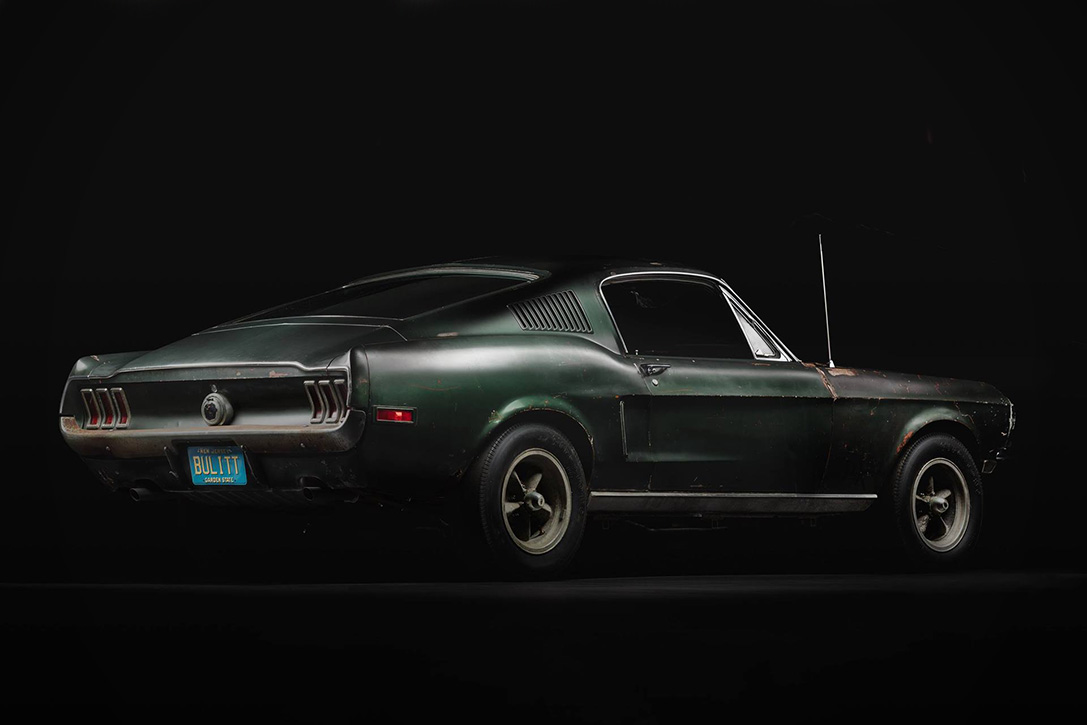 Car Stunt Wallpaper 1968 Original Bullitt Mustang Hiconsumption