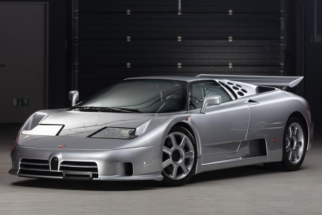 Auction Block 1994 Bugatti Eb110 Ss Hiconsumption