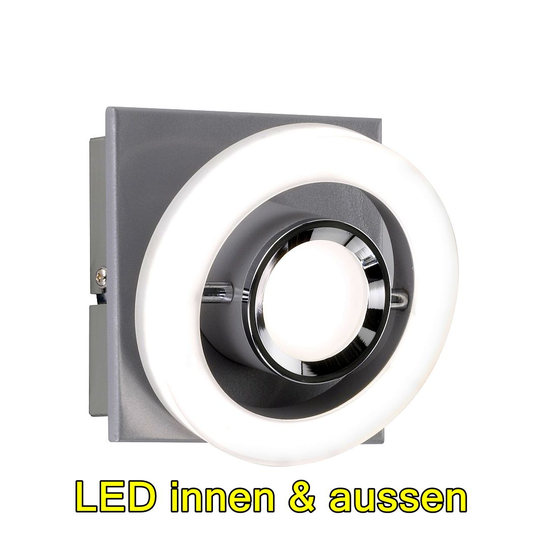 Sind Led Lampen Dimmbar Dimmbar Led Beautiful Led Wandleuchte Dimmbar Rund Mm