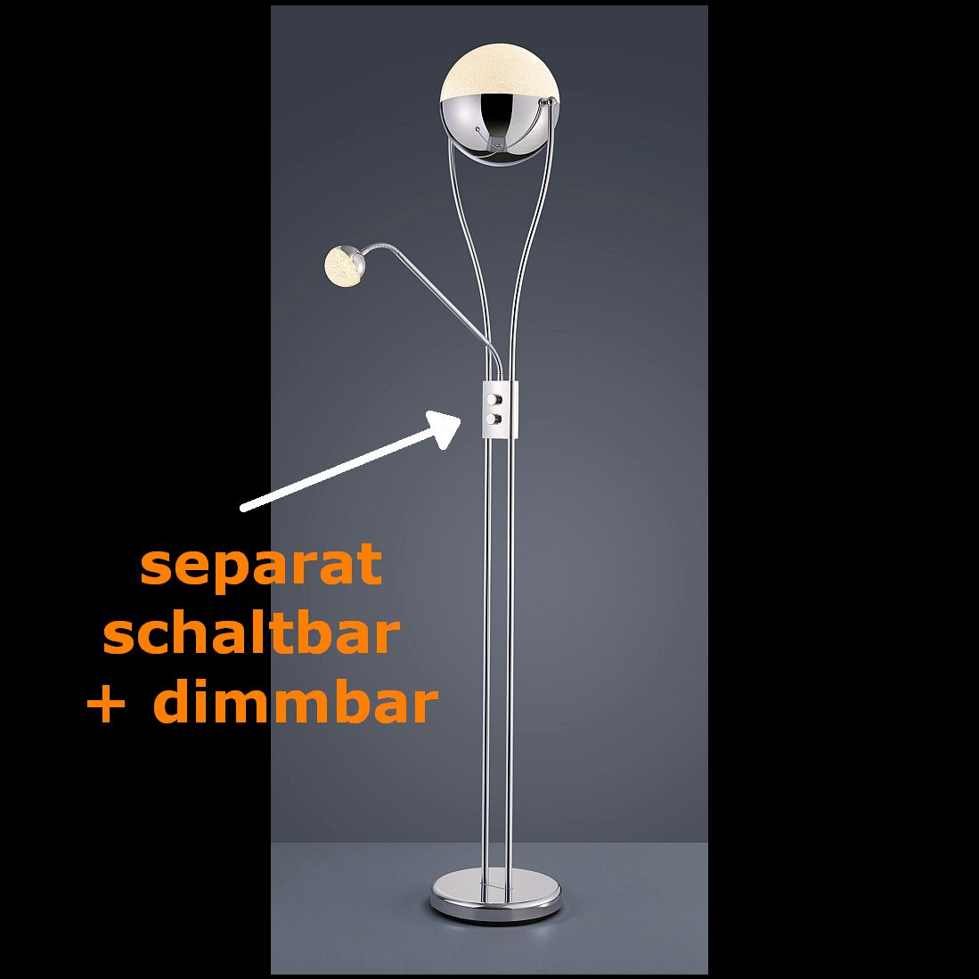 Standleuchte Led Dimmbar Dimmbare Led Stehlampe Simple Excellent Led Stehlampen Bestellen