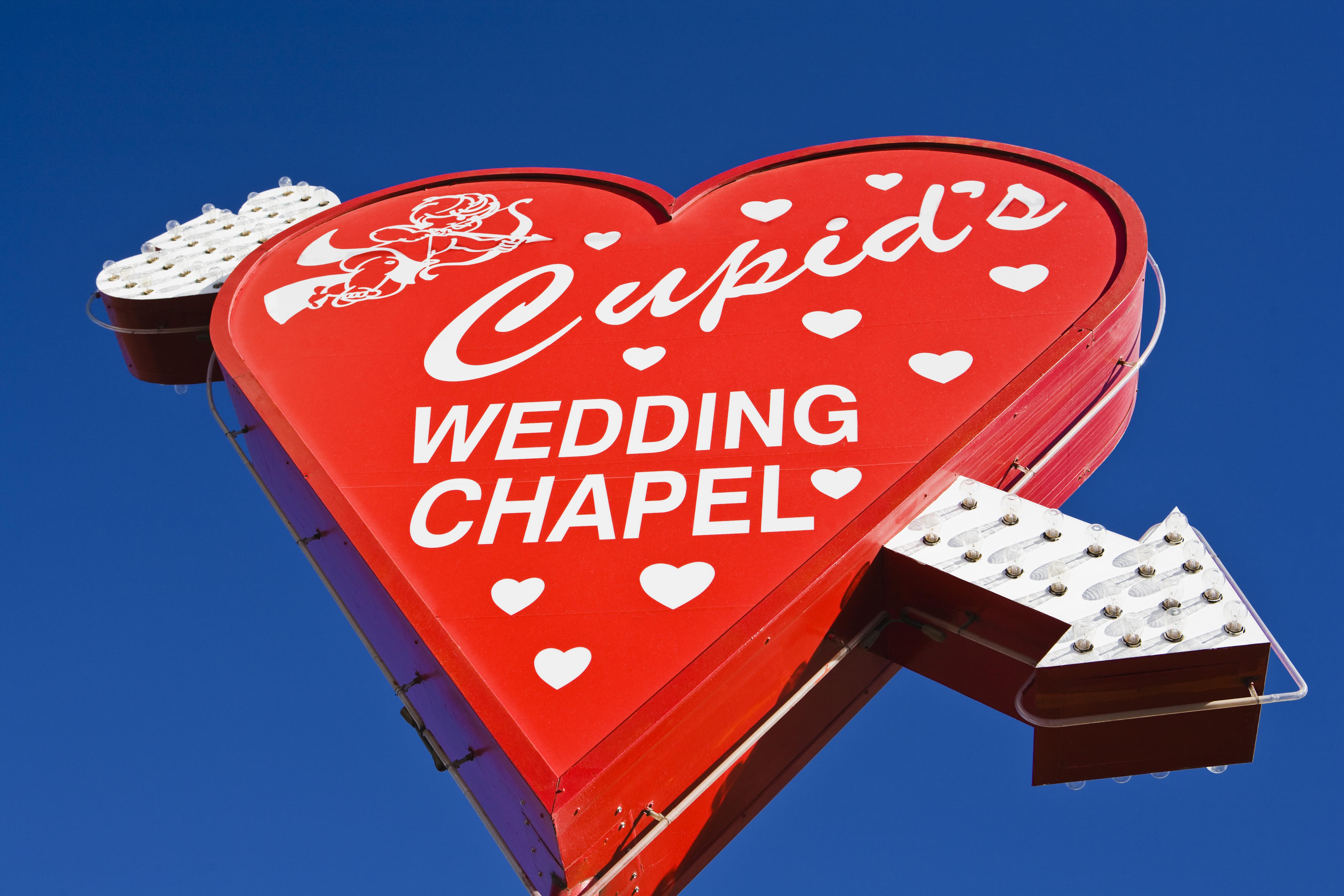cupids wedding chapel in las vegas vegas wedding chapels nevada las vegas cupid s wedding chapel valentine s day