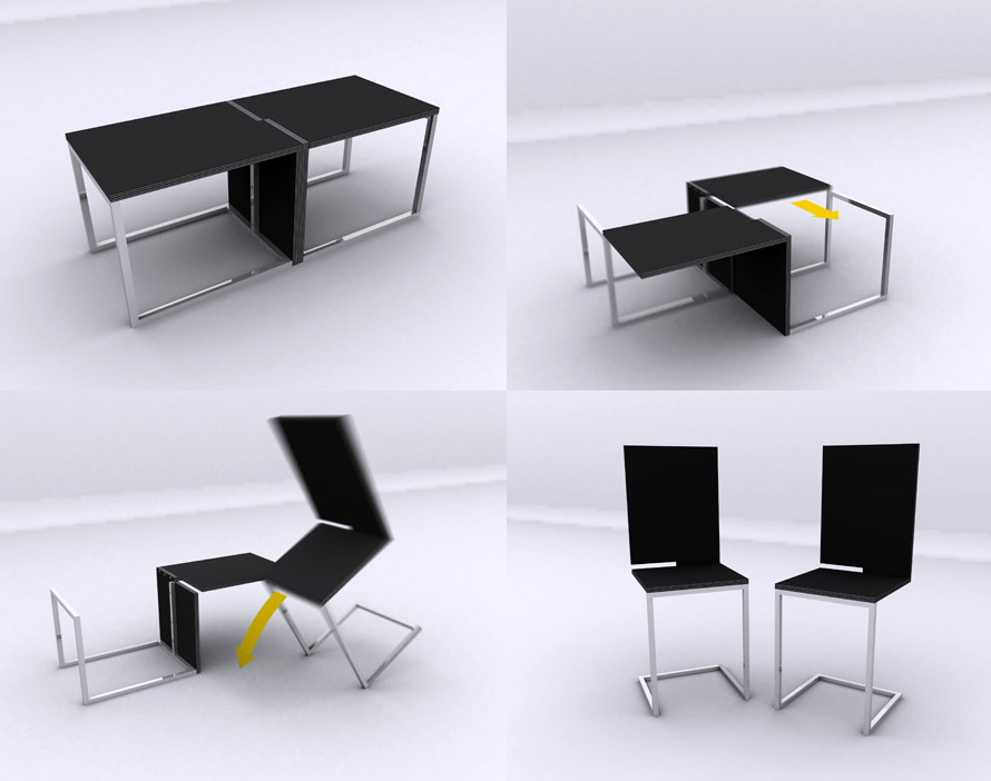 12 Extraordinary Table Designs