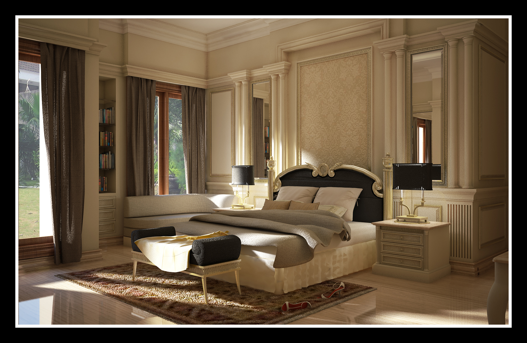 Interior Design For Bedroom Classic Interior Design