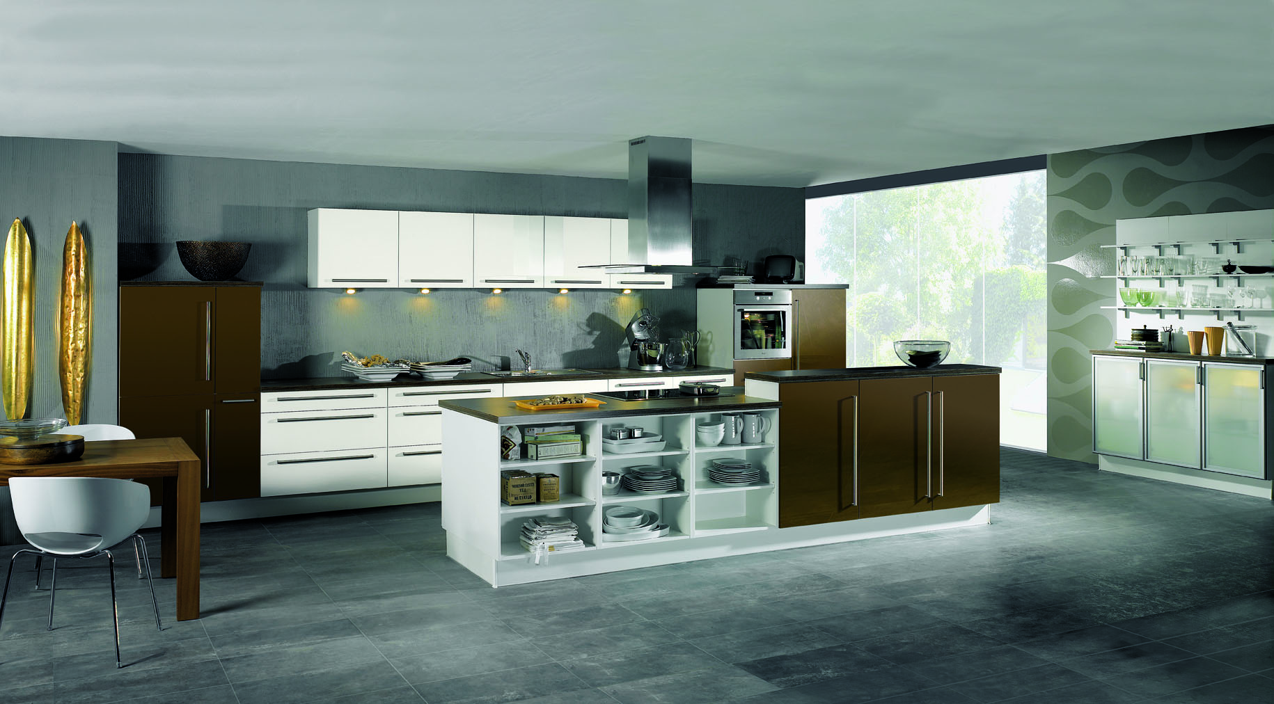 Open Type Kitchen Design Types Of Kitchens Alno