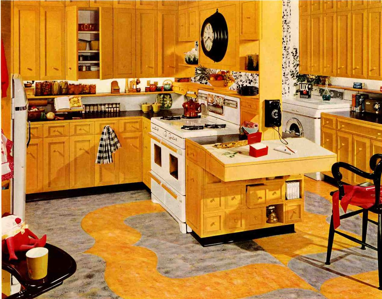 Retro Style Kitchen Retro Kitchen Design Sets And Ideas