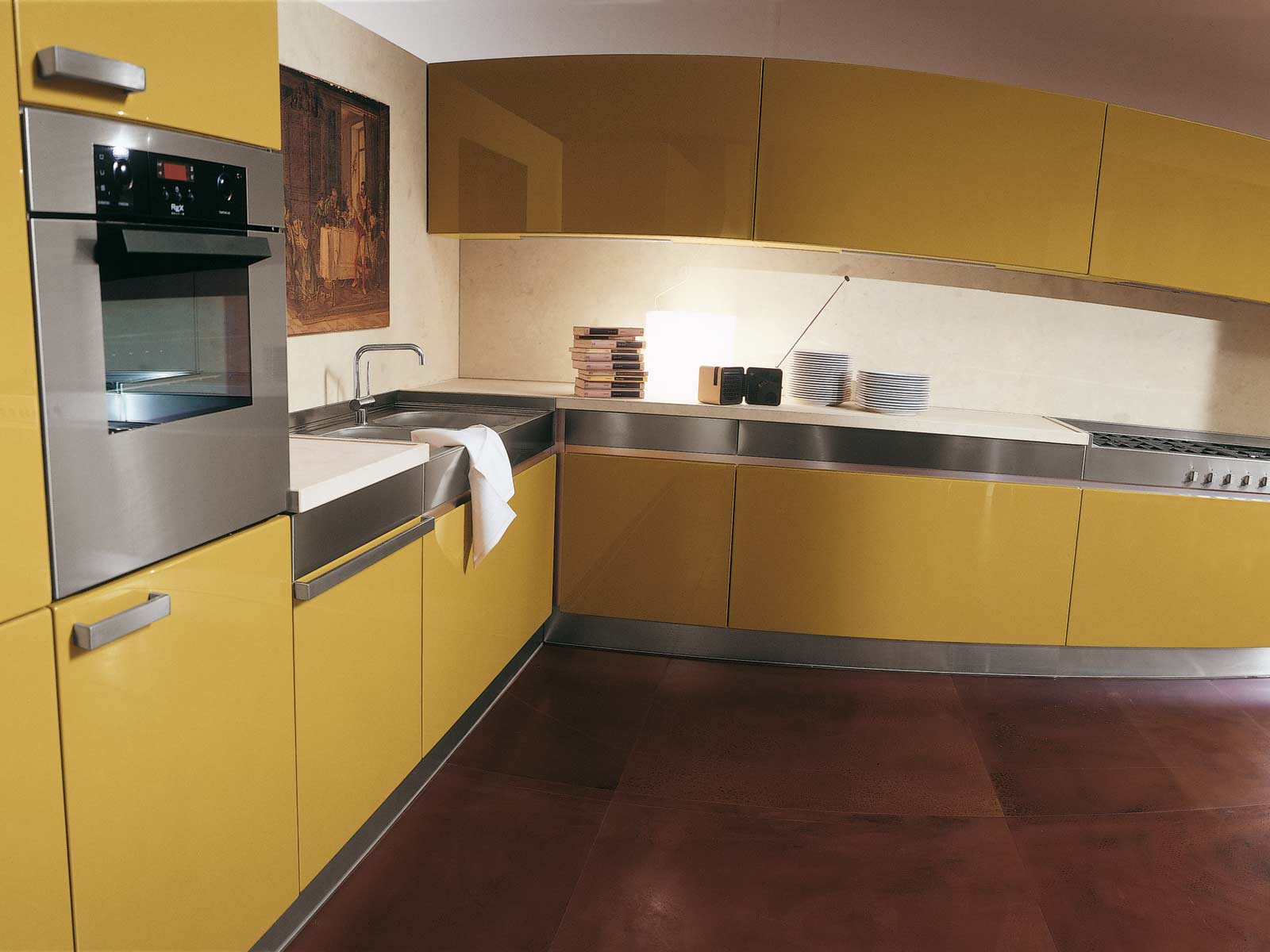 Kitchen Design Yellow Cabinets Yellow Kitchens