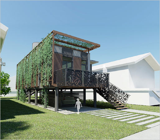 sustainable homes katrina victims brad pitt green homes designs epic home designs