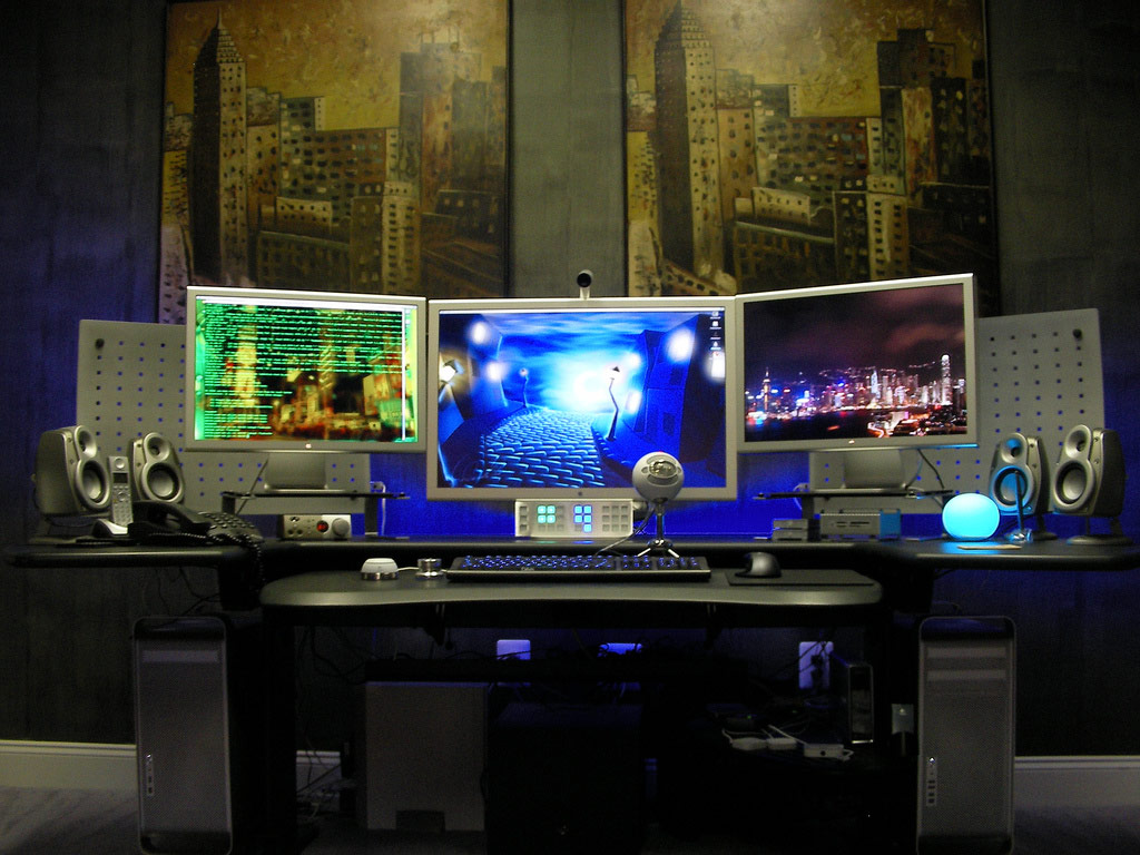 Cool Office Setups Awesome Mac Workplaces