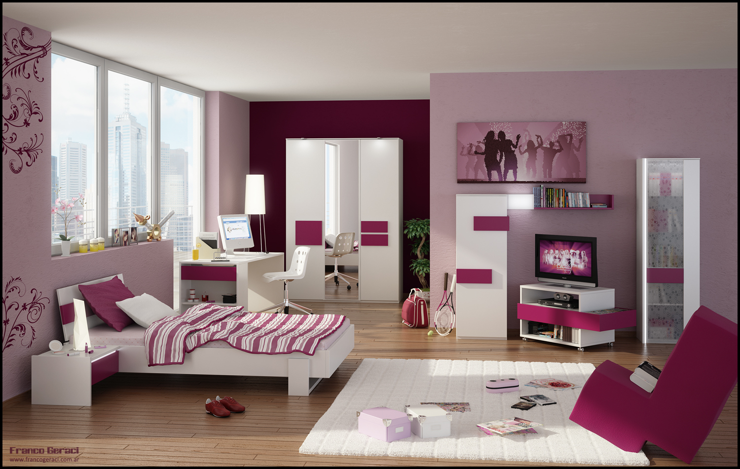 Bedroom Colors For Teenage Girl Teenage Room Designs