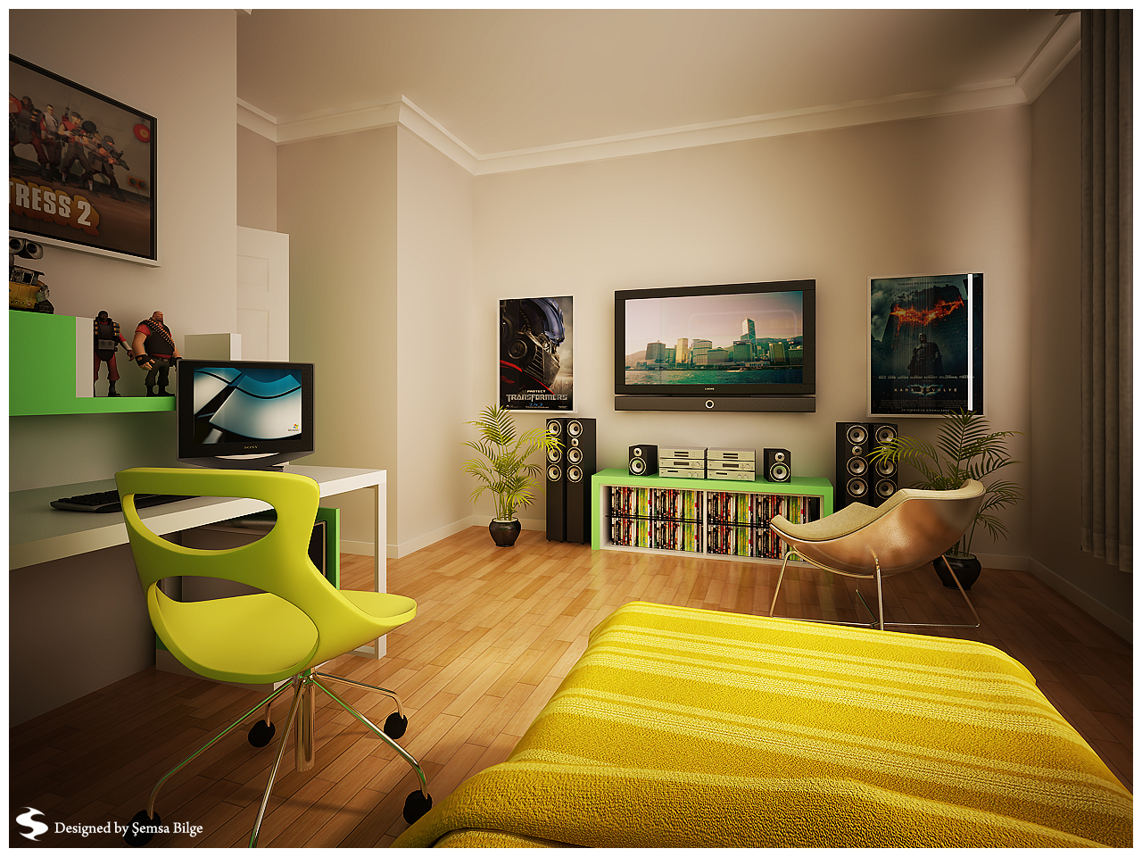 Cool Room Themes Teenage Room Designs
